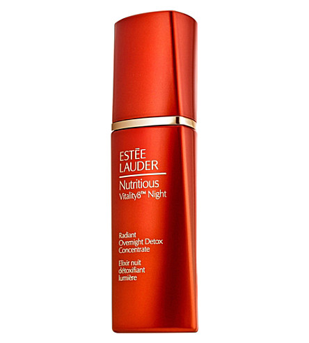 ESTEE LAUDER Nutritious Vitality8 Night Radiant Overnight Detox Concentrate 30ml