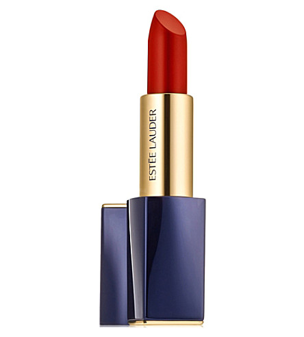 ESTEE LAUDER Pure Colour Envy Matte sculpting lipstick 3.5g (Decisive+poppy