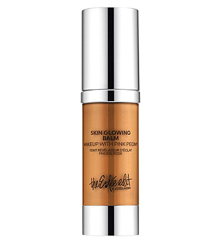 THE ESTEE EDIT BY ESTEE LAUDER Skin Glowing Balm Makeup with Pink Peony 30ml (Amber