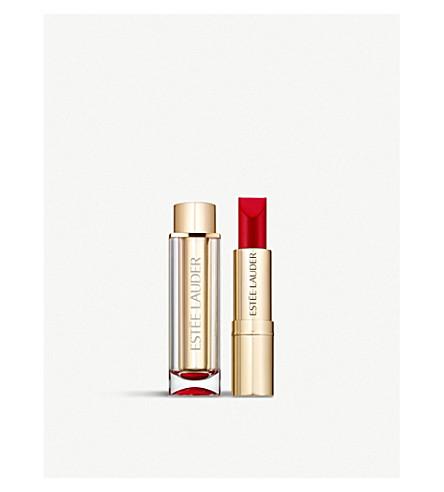 ESTEE LAUDER Pure Colour Love Matte Lipstick 3.5g (Bar+red
