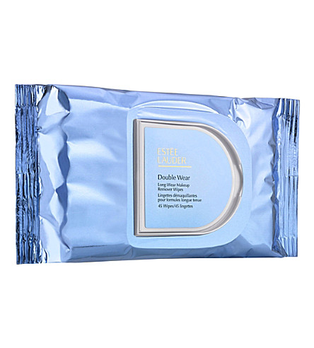 ESTEE LAUDER Double Wear long-wear make-up remover wipes