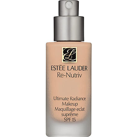 ESTEE LAUDER Re-Nutriv Ultimate Radiance Makeup SPF 15 (Cashew