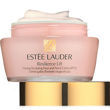 ESTEE LAUDER Resilience Lift Firming/Sculpting face and neck creme SPF 15 - dry skin