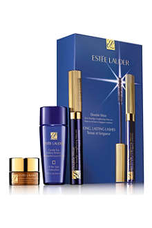 ESTEE LAUDER Double Wear Zero–Smudge Lengthening Mascara Set