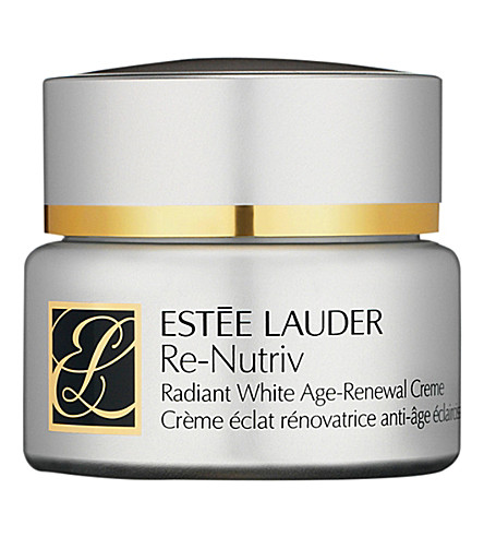 ESTEE LAUDER Re-Nutriv Radiant White Age-Renewal creme