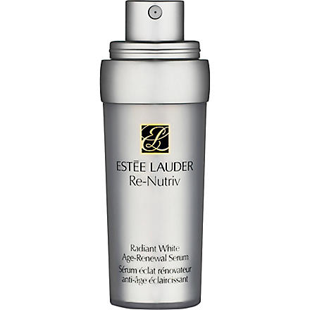 ESTEE LAUDER Re-Nutriv Radiant White Age-Renewal serum