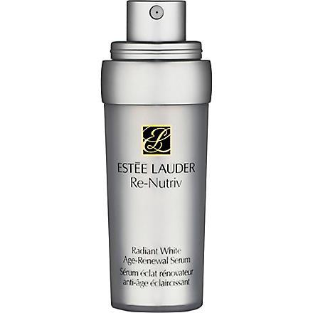 ESTEE LAUDER Re-Nutriv Radiant White Age-Renewal serum