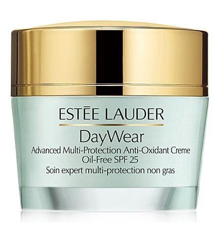 ESTEE LAUDER 服装高级 Multi–Protection Anti–Oxidant 霜 Oil–Free SPF 25