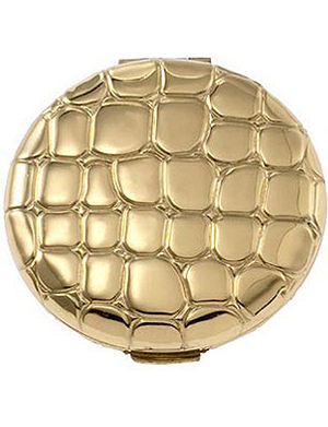 ESTEE LAUDER Golden alligator compact