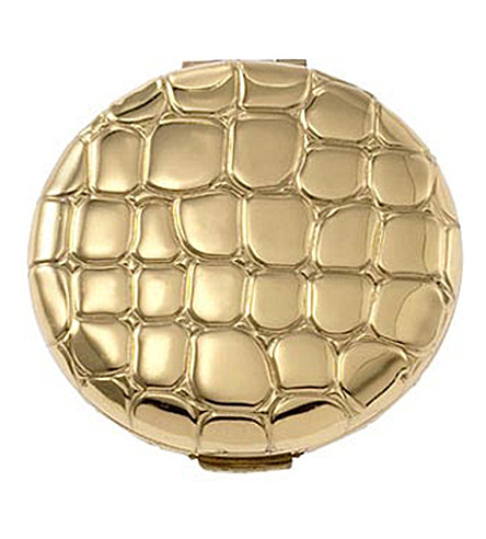 ESTEE LAUDER Golden alligator compact (Shade+06