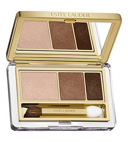 ESTEE LAUDER Pure Color Instant Intense eyeshadow trio (Amber+alloy
