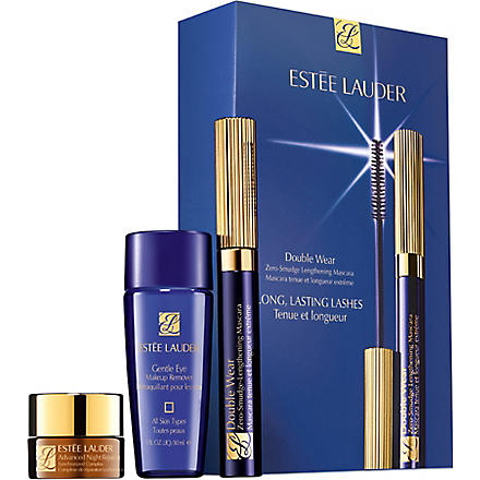 ESTEE LAUDER Double Wear Zero-Smudge Lengthening Mascara Set