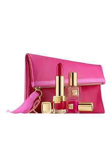 ESTEE LAUDER Evelyn Lauder and Elizabeth Hurley Dream Pink Collection
