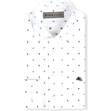 ETRO Paisley regular-fit shirt (White