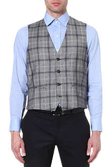 ETRO Prince of Wales check waistcoat