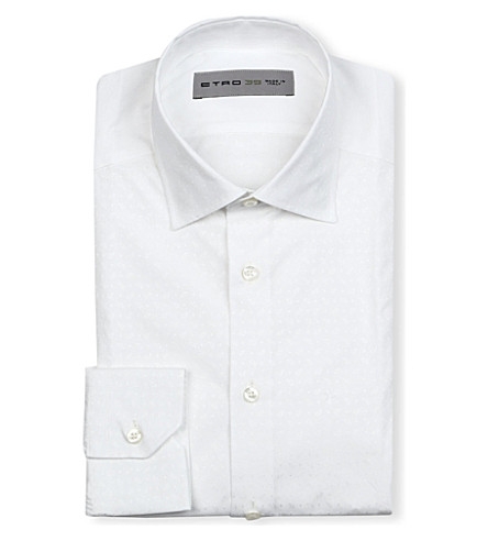 ETRO Paisley print shirt (White