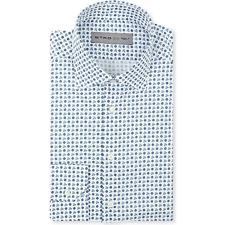 ETRO Octopus shirt (Blue