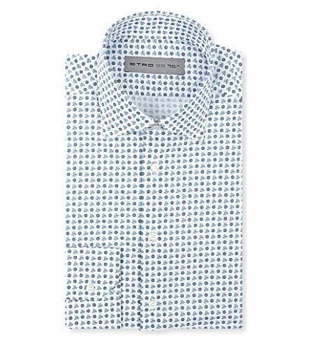 ETRO Octopus shirt (Blue