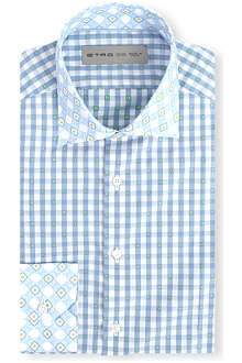 ETRO Gingham regular-fit shirt