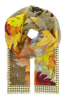 ETRO Cotton-silk scarf