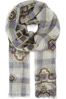 ETRO Checked scarf