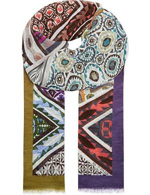 ETRO Geometric-print scarf