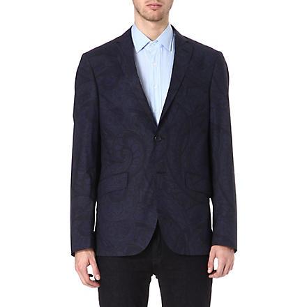 ETRO Paisley print jacket (Blue