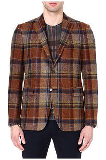 ETRO Prince of Wales check blazer