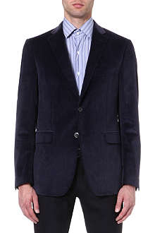 ETRO Single-breasted corduroy blazer