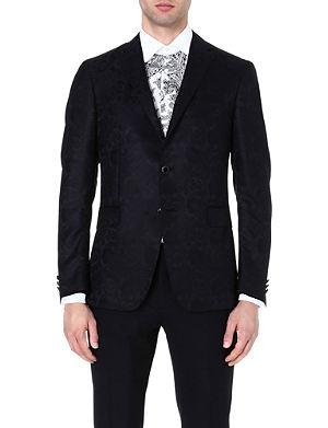 ETRO Paisley wool and silk-blend blazer