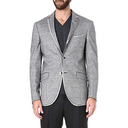 ETRO Linen and cotton-blend blazer (Multi