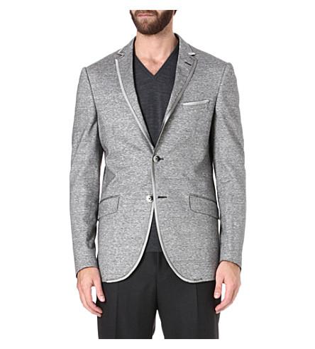 ETRO Linen and cotton-blend blazer (Multi