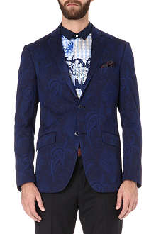 ETRO Paisley single-breasted blazer