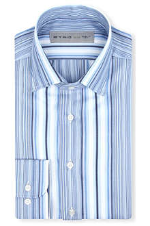 ETRO Multi-stripe cotton shirt