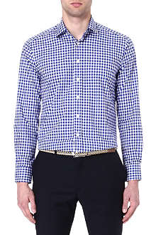 ETRO Gingham cotton shirt
