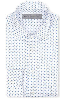 ETRO Floral circle print shirt