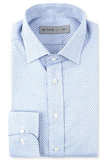 ETRO Woven single-cuff shirt