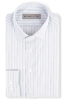 ETRO Contrasting striped shirt