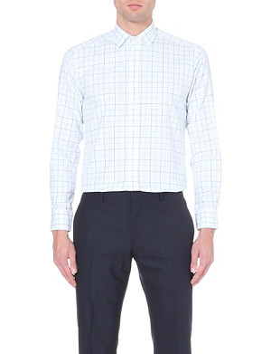 ETRO Checked cotton shirt
