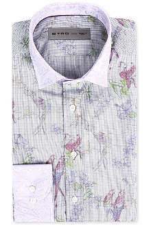 ETRO Bird print regular-fit shirt