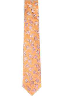 ETRO Paisley striped silk tie