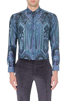 ETRO Paisley slim-fit single-cuff shirt
