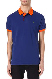 ETRO Colourblocked polo shirt