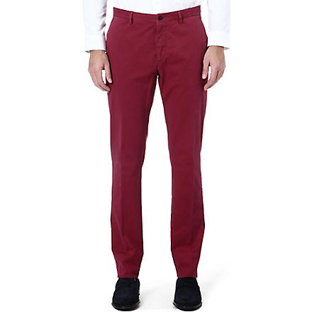 ETRO Regular-fit tapered trousers (Multi