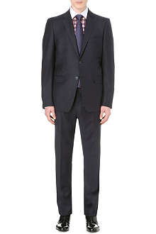 ETRO Single-breasted wool and cashmere-blend suit