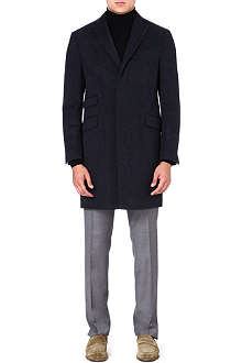 ETRO Wool and silk-blend coat