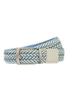 ETRO Cotton mix plaited belt