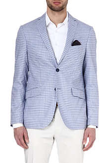 ETRO Dogtooth cotton jacket