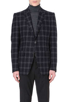 ETRO Windowpane-check single-breasted blazer
