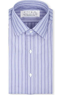 ETRO Slim-fit stripe shirt